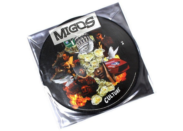 Migos ‎– Culture - New Vinyl Record 2017 Quality Control / 300  Entertainment 2-LP Picture Disc (Limited to 1000 Worldwide!)