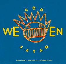 Ween ‎– God Ween Satan: Live (at John & Peter's, New Hope, PA on 9/14/01) - New Vinyl 2016 Chocodog Limited Edition 2-LP Gatefold Pressing on 180Gram White Vinyl - Alt-Rock / Experimental