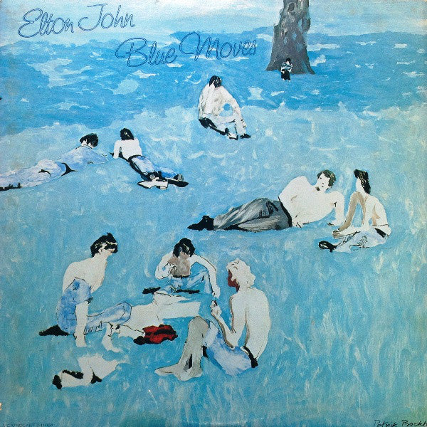 Elton John - Blue Moves - VG+ 2 Lp Record 1976 USA Original Vinyl - Pop Rock
