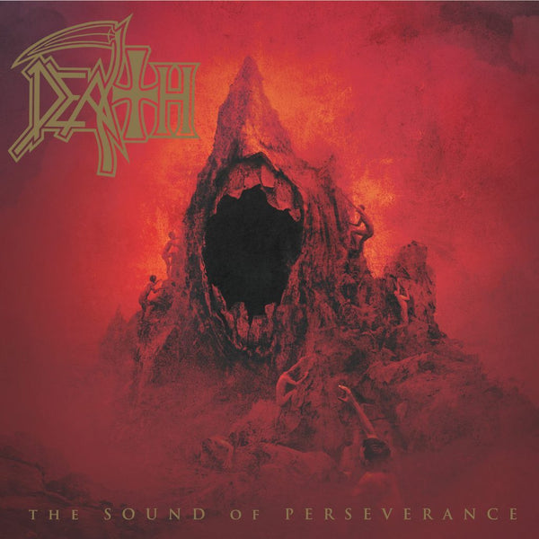 Death - The Sound of Perseverance - New Vinyl Record 2016 Relapse Records Gatefold Limited Edition (500!) 2-LP on Gold Vinyl! - Death Metal
