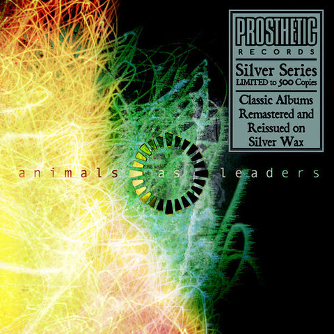 Animals As Leaders ‎– S/T New Vinyl Record 2017 Limited Edition Prosthetic 2LP Remastered Reissue on Silver Vinyl (Only 500 Made!) - Progressive Metal / Djent