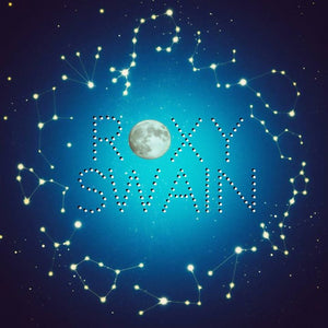 Roxy Swain - Beneath Full Moonlight - New Lp Record 2016 USA White Walker Blue Vinyl & Download - Chicago Rock/Indie