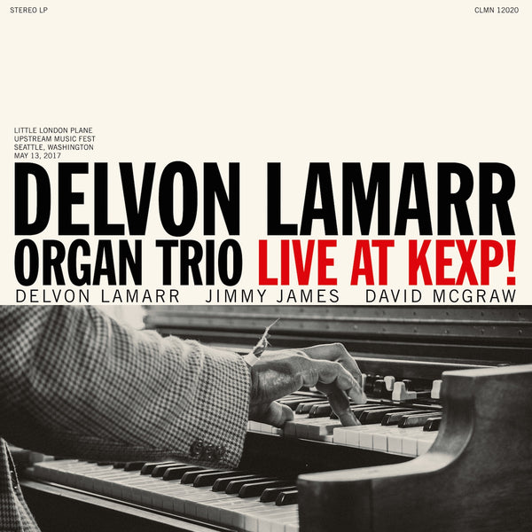 Delvon Lamar Organ Trio - Live At KEXP - New Vinyl Lp 2018 Colemine - Jazz