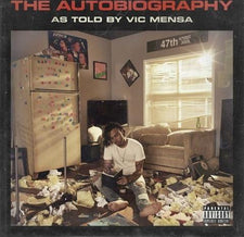 Vic Mensa ‎– The Autobiography - New Vinyl 2017 Roc Nation 2-LP Debut Pressing on White Vinyl with Gatefold Jacket - Rap / Hip Hop