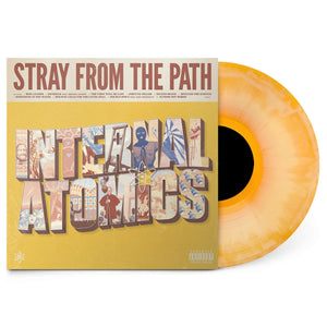 Stray From The Path - Internal Atomics - New LP Record 2019 UNFD USA Beer/Mustard Colored Vinyl - Hardcore / Punk
