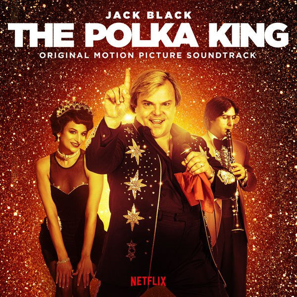 Jack Black Polka Band - The Polka King - New Vinyl 2018 Lakeshore Records Pressing on 'Classic Black' Vinyl - Soundtrack / Netflix Series
