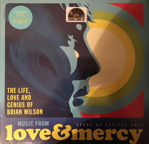 Atticus Ross ‎– Music From Love & Mercy - New Lp Record Store Day 2015 USA RSD Black Friday Blue & White Marbled Vinyl - Soundtrack