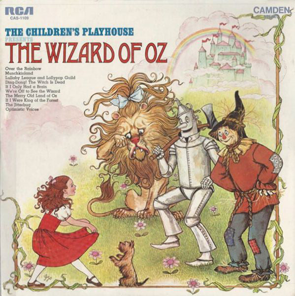 The Children's Playhouse - The Wizard Of Oz - VG 1969 Stereo USA - Children's/Story