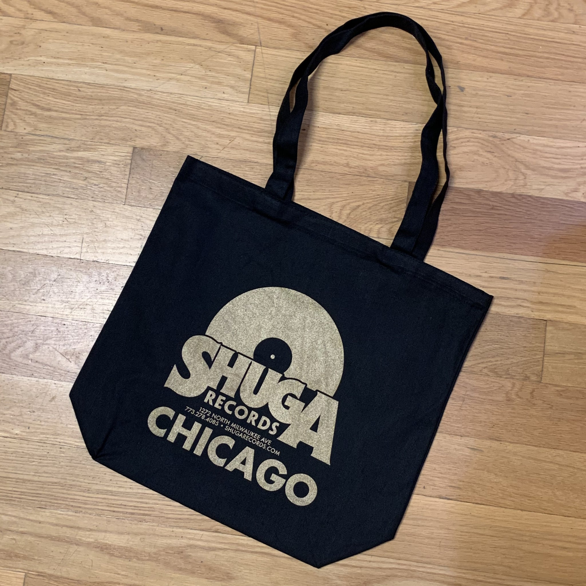 Second Press Shuga Records Tote Bag!