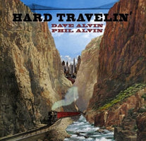 Dave and Phil Alvin - Hard Travelin' EP - New Vinyl Record 2017 Yep Roc Record Store Day Exclusive on Transparent Red Vinyl, Limited to 1000 - Blues / Country Rock