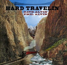 Dave and Phil Alvin - Hard Travelin' EP - New Vinyl 2017 Yep Roc Record Store Day Exclusive on Transparent Red Vinyl, Limited to 1000 - Blues / Country Rock