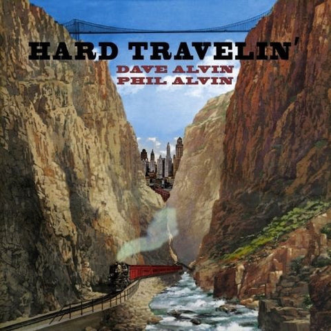 "Dave and Phil Alvin - Hard Travelin' EP - New 12"" Ep Record Store Day 2017 Yep Roc USA RSD Translucent Red Vinyl - Blues / Country Rock"