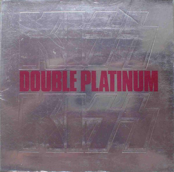 Kiss ‎– Double Platinum - VG 1978 Stereo 2 Lp Set USA - Hard Rock