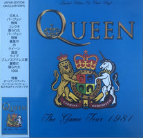 Queen - The Game Tour 1981 - New Vinyl Lp 2019 Coda Limited Japanese Edition on Clear Vinyl (EU Import) - Rock