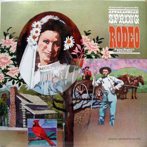 Aaron Copland - Appalachian Spring Rodeo LP Mint- 07819 Stereo 1979 Classical