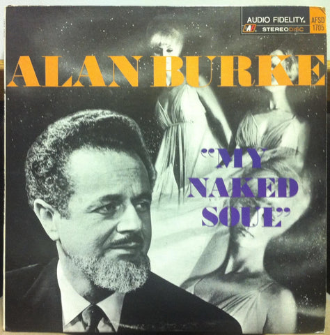 Alan Burke - My Naked Soul LP VG+ AFSD 1705 Spoken 1967 Record Poetry Stereo USA