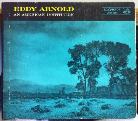 "10"" RCA 1955 1s/1s EDDY ARNOLD an american institution LP VG+ LPMX-3230 w/Book"