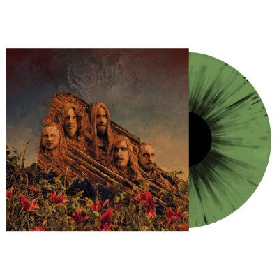 Opeth - Garden of the Titans (Live at Red Rocks Amphitheatre) - New Vinyl 2 Lp 2018 Nuclear Blast Pressing on 'Green with Black Splatter' Vinyl with Gatefold Jacket (Limited to 500!) - Death / Progressive Metal