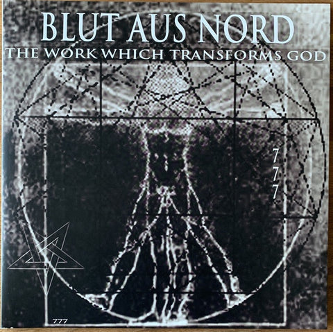 Blut Aus Nord ‎– The Work Which Transforms God - New LP Record 2020 Candlelight US Clear/Black Split Vinyl - Dark Ambient / Black Metal / Experimental
