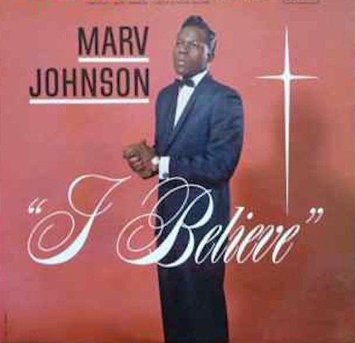 Marv Johnson - I Believe - VG 1962 Mono (Original Press) USA - Soul/Gospel