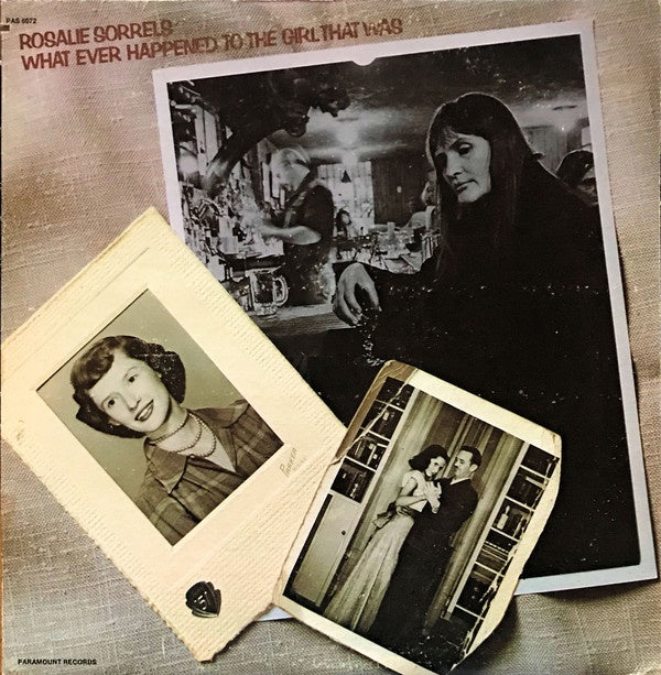 Rosalie Sorrels ‎– What Ever Happened To The Girl That Was - Mint- Lp Record 1973 USA Original Vinyl - Folk