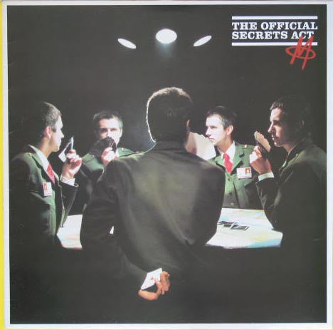 M - The Official Secrets Act - VG+ 1980 Stereo PROMO USA - New Wave, Synth-pop, Experimental
