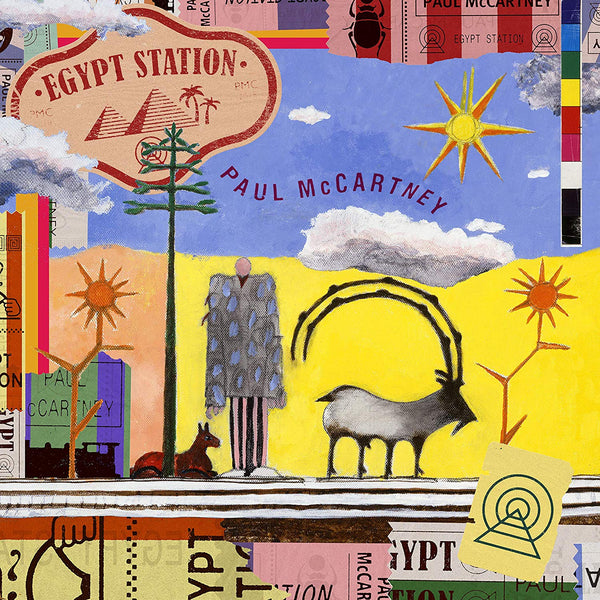Paul McCartney - Egypt Station - New Vinyl 2 Lp 2018 Capitol 180gram Audiophile Pressing with Concertina Sleeve and Download - Rock