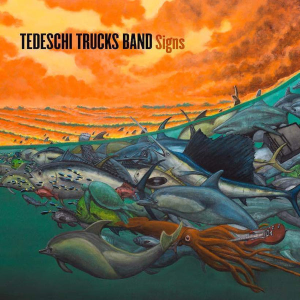 "Tedeschi Trucks Band - Signs - New Vinyl Lp 2019 Fantasy 180gram Pressing with Bonus 7"" with Etched B-Side - Southern Rock"