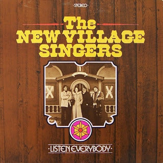 The New Village Singers - Listen Everybody - VG 1973 Stereo USA (Private Press Minnesota) - Folk Rock Christian