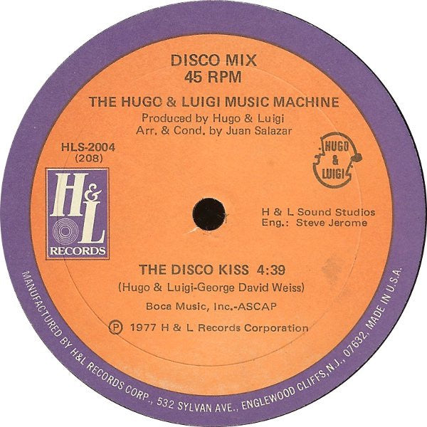 The Hugo & Luigi Music Machine ‎– Love Theme From