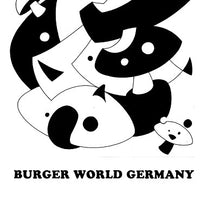 Various Artists - Burger World Germany - New Cassette 2018 Burger Records Compilation White Tape - Rock