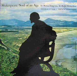 William Shakespeare - Soul Of An Age - VG 1962 Stereo USA (With Book) - Spoken Word
