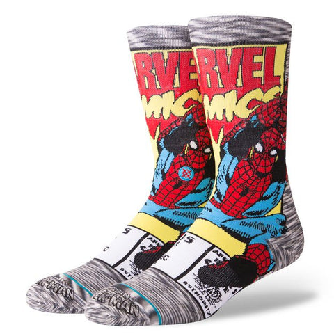 Stance Socks - Spiderman Comic - Men's size 9-12