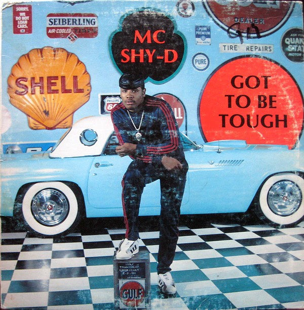 MC Shy-D ‎– Got To Be Tough - VG- Lp Record 1987 USA Original Vinyl - Hip Hop