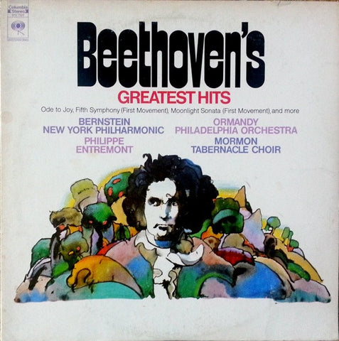 Beethoven / Various ‎– Beethoven's Greatest Hits - Mint- CBS Masterworks Stereo Compilation USA Lp - Classical
