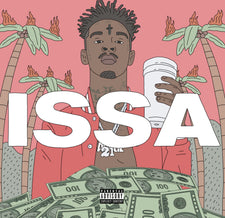 21 Savage - Issa Album - New Vinyl 2017 Epic Records 2-LP Pressing - Rap / Hip-Hop / Trap