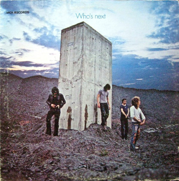 The Who ‎– Who's Next (1971) - VG+ Stereo USA 1973 (MCA Pressing) - Rock