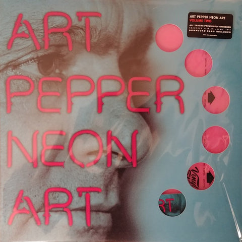 Art Pepper ‎– Neon Art: Volume Two (Live in Japan 1981) - New LP Record 2012 Omnivore USA Neon Pink Vinyl & Download - Jazz