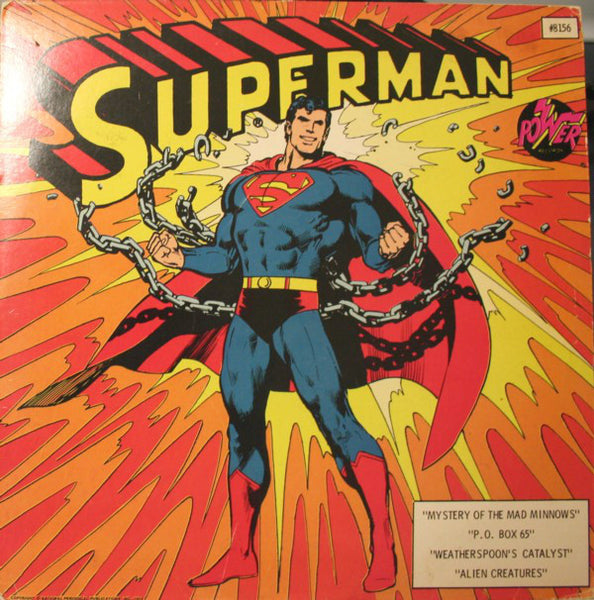 Unknown Artist ‎– Superman - VG 1975 Stereo USA - Story/Children's