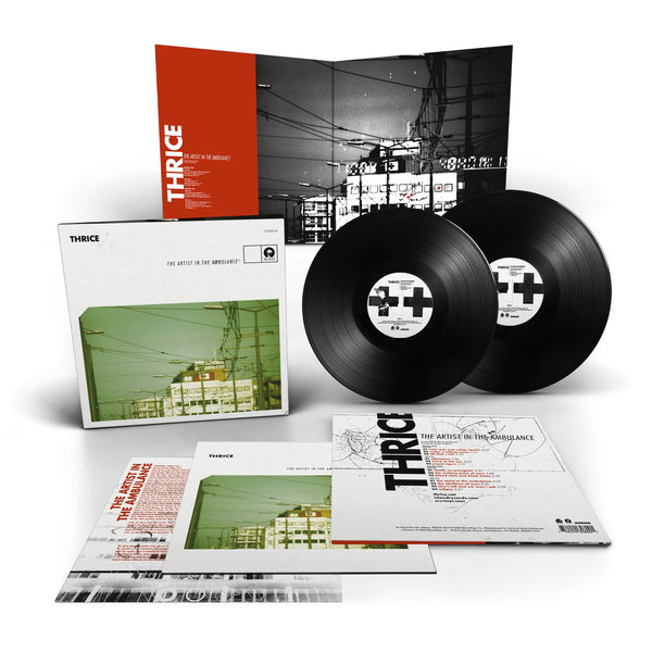 Thrice - The Artist in The Ambulance - New 2 Lp 2019 SRC Vinyl 180gram Limited Reissue with Booklet - Post-Hardcore