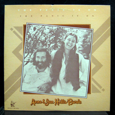 Anne & Jan Hills Burda - The Panic Is On LP VG+ HOG 001 Hogeye 1982 USA Folk 1st