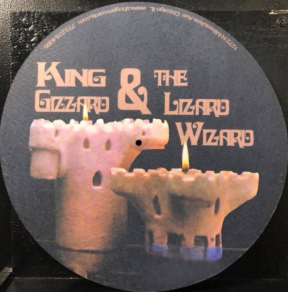 King Gizzard And The Lizard Wizard ‎– Polygondwanaland - New Lp Record 2018 Shuga Exclusive 180 gram Black Test Press Vinyl & B&W Screen Screened Starman Press Cover & Slipmat, Lyric/Liner Notes Insert & Sticker - Psychedelic Rock