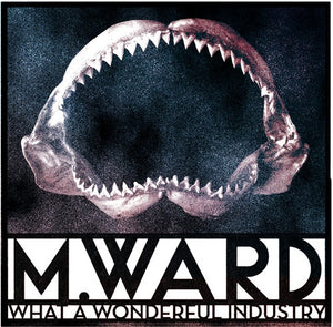 M. Ward - What A Wonderful Industry - New Vinyl Lp 2019 Limited Edition 'Cloudy Clear' Vinyl Pressing with Gatefold Jacket - Indie Folk
