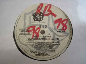 "112 - Only You (Remix) - VG 12"" Single 1996 Bad Boy Entertainment USA - Hip Hop"