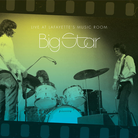 Big Star ‎– Live At Lafayette's Music Room (Memphis, TN 1973) - New Vinyl 2018 Omnivore Recordings 2 Lp Remastered Pressing with Gatefold Jacket and Download - Power Pop / Rock