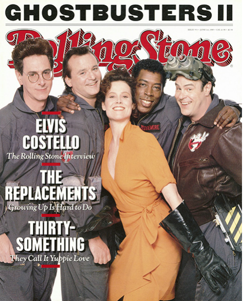 Rolling Stone Magazine - Issue No. 553 - Ghostbusters II