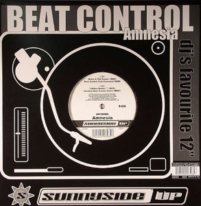 "Beat Control - Amnesia VG+ - 12"" Single 2005 Sunnuside Up USA - Trance"