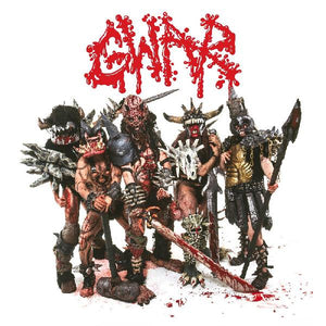 GWAR - Scumdogs of the Universe (1990) - New 2 LP Record 2020 Slave Pit USA Red Transparent w/ Black Smoke Vinyl - Heavy Metal