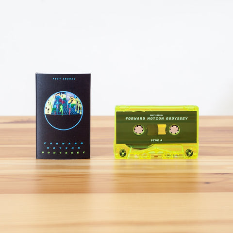 Post Animal - Forward Motion Godyssey - New Cassette 2020 Polyvinyl USA Yellow Tint Colored Shell Tape & Download - Chicago Psychedelic Rock
