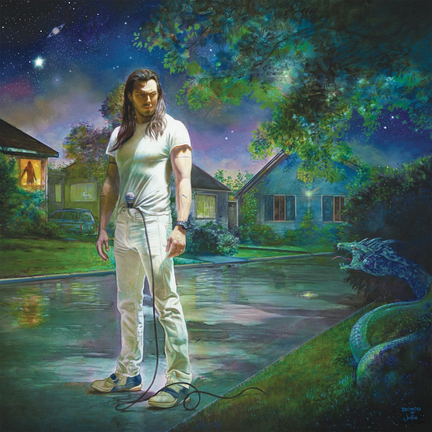 Signed / Autograpghed - Andrew W.K. ‎– You're Not Alone - New 2 Lp Record 2018 RED MUSIC USA Blue & Green Colored 180 gram Vinyl - Hard Rock